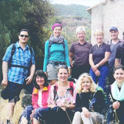 Wandern Yoga Team Vinyasa Wanderurlaub Yogareise Berg Stress Erholung